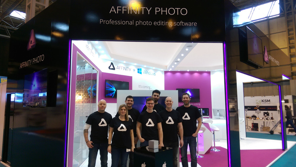 Team Affinity at The Photography Show