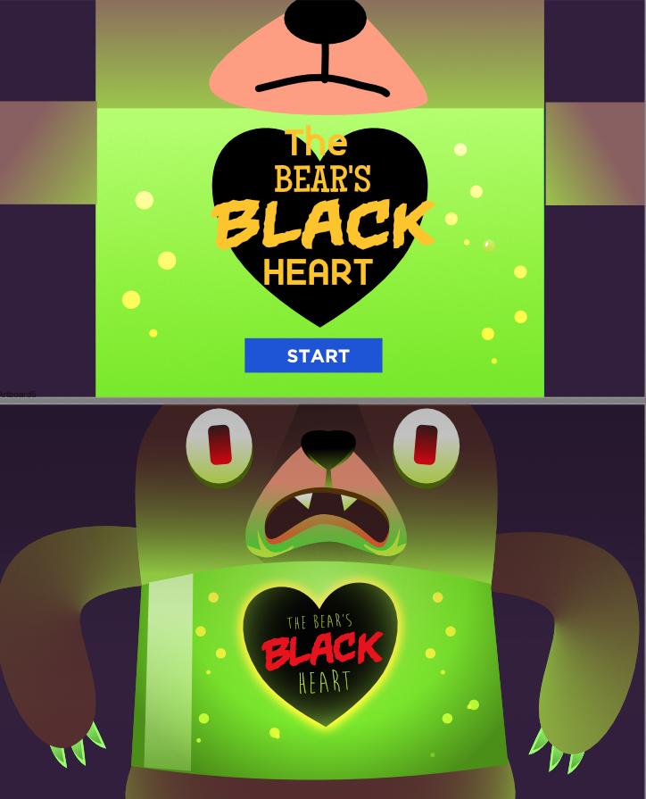 Bear's Black Heart