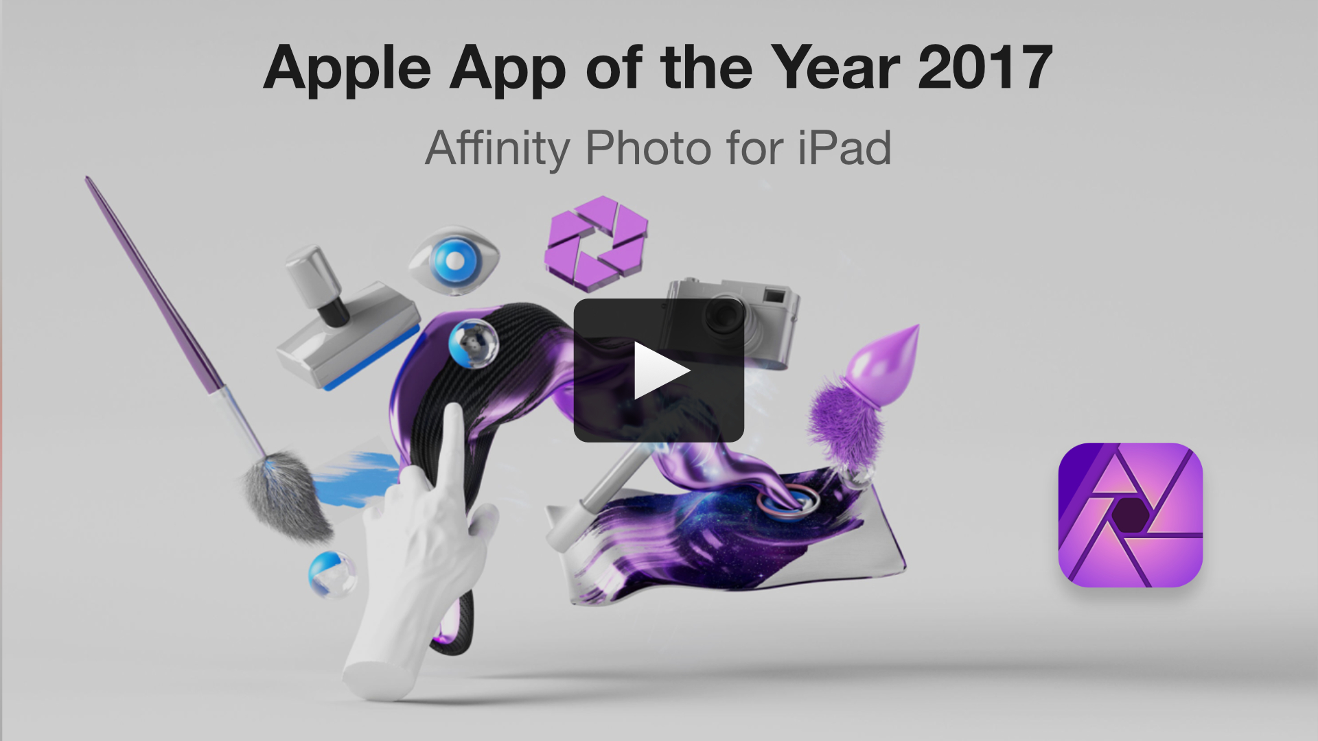Affinity Photo for iPad video